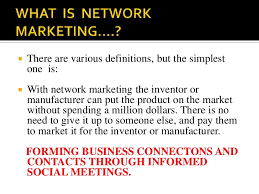 What is Network Marketing To You?