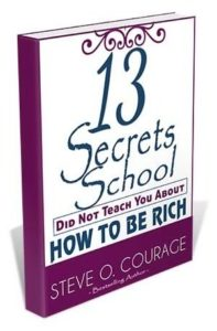 13 secrets School did not teach you about money