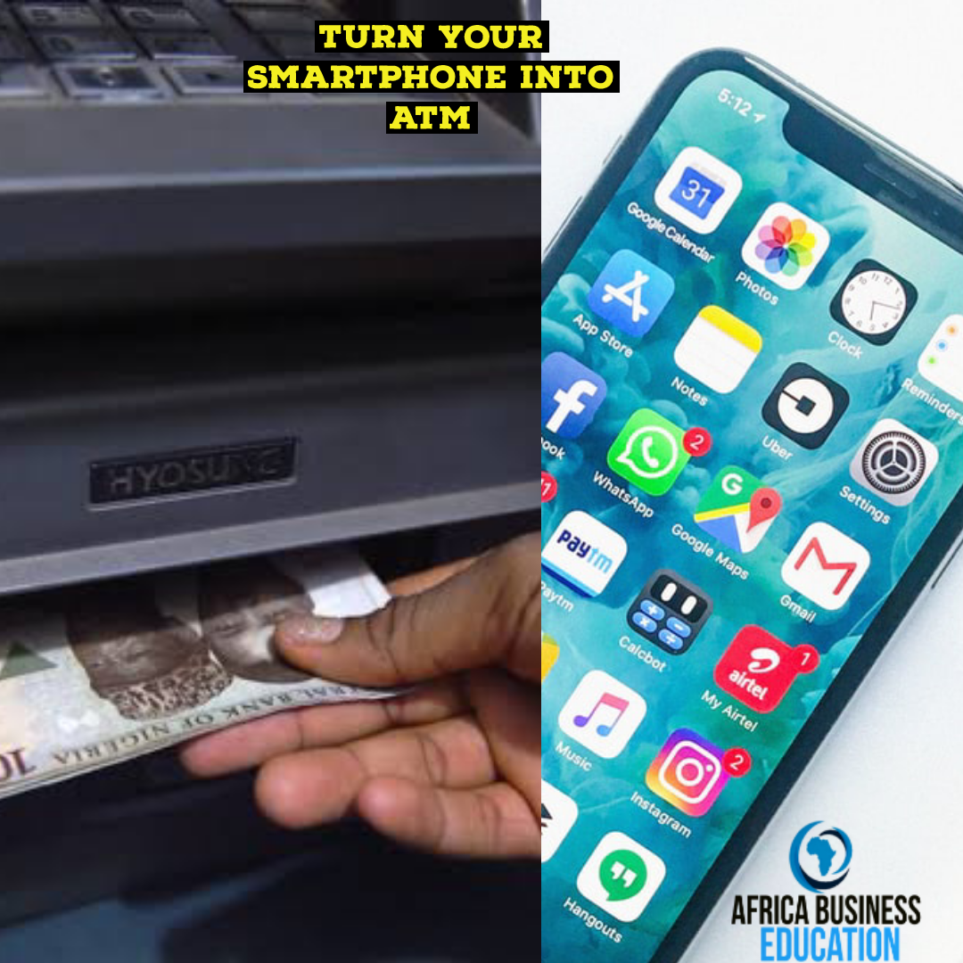 Learn how to turn your smartphone into Atm
