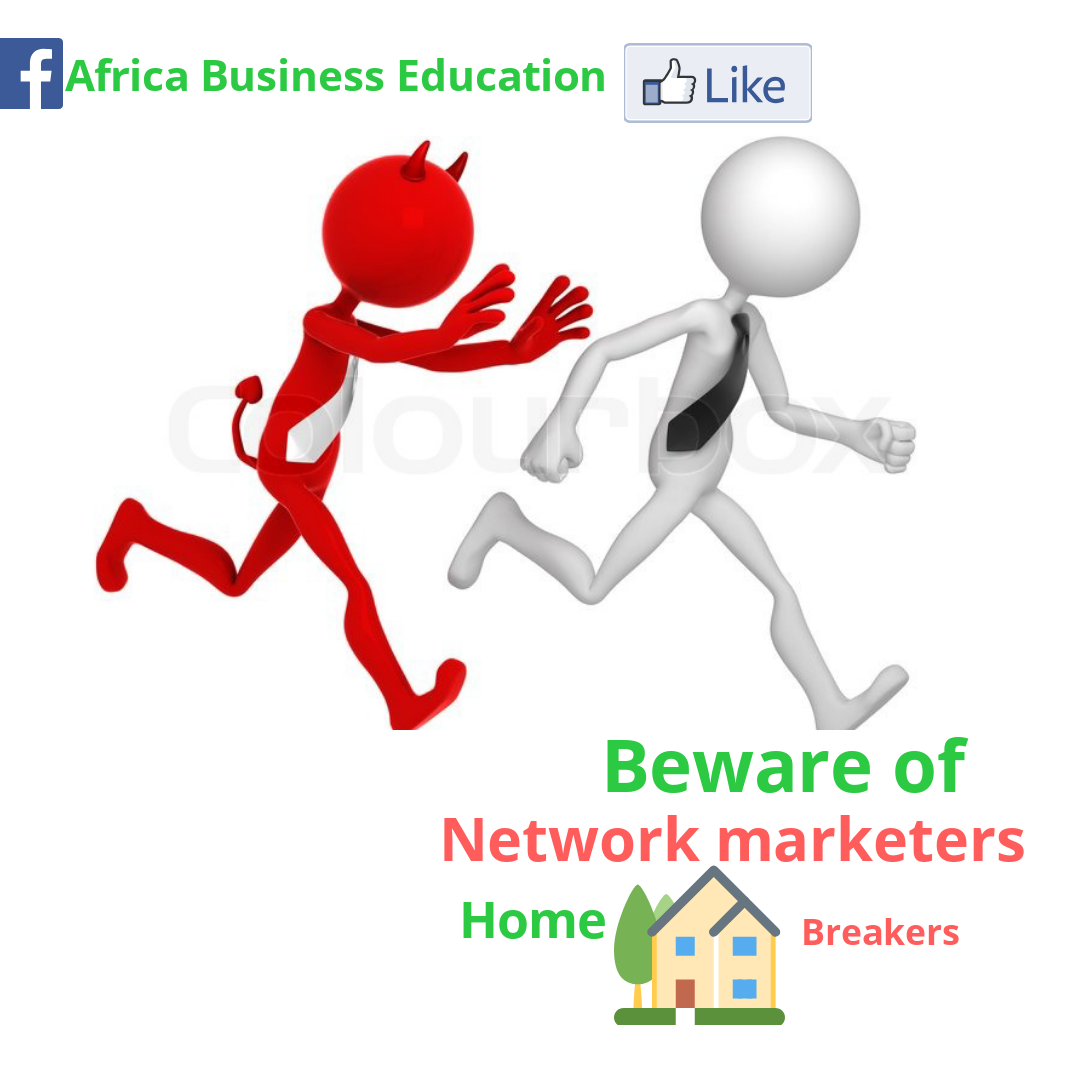 Beware of network Marketer Home Breaker