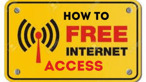 How to get free internet access without mobile data
