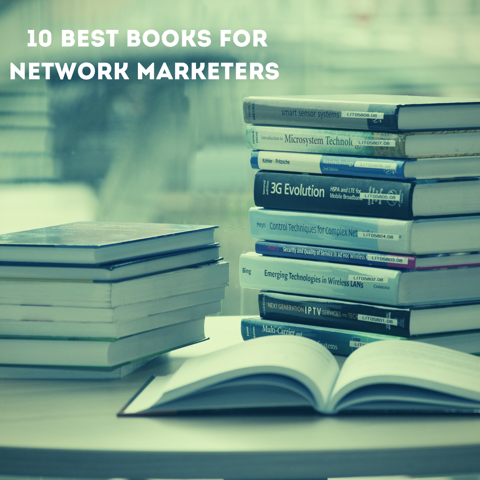 10 Best Network Marketing Books Recommended by Successful Marketers