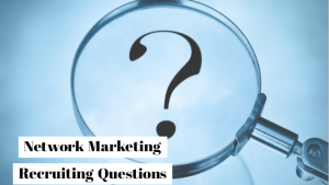 Network marketing questions for prospect
