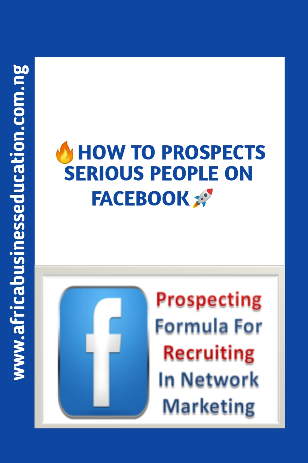 How to prospect for network marketing on facebook as a beginner